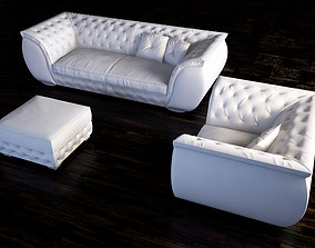 corte zari furniture set 3D