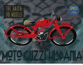 3D Moto Guzzi Hispania model