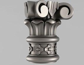 Capitals elements 3D print model