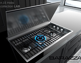 flame 3D hob by Barazza LAB Collection