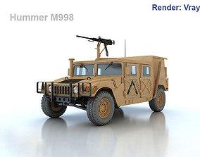 Hummer M998 3D model