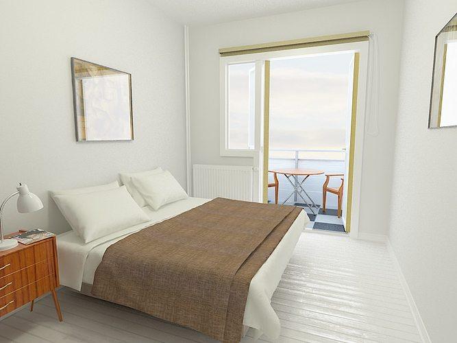 Bed Room 3d Model Max Mat