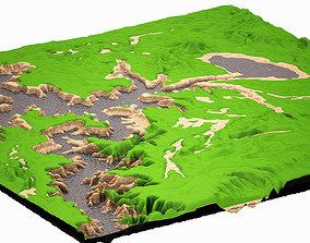 Mountain 003 HIGHPOLY fbx 3D model