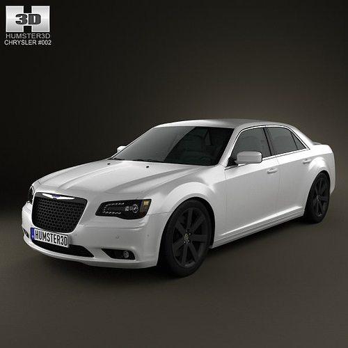 3D Chrysler 300 SRT8 2012