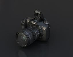 canon 7D 3D Model