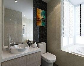 3D Master bathroom