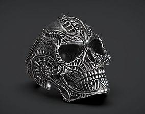 Ring Skull Biomechanics STL 3d model for 3d