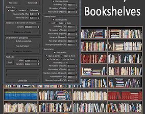 Fill my bookshelves 3D model