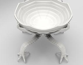 Alien Creature Bowl 3D print model