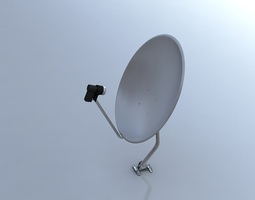 Satellite Dish 3D