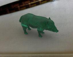 wildboar 3d print model