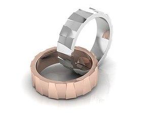 3D printable model ring jewel Wedding Ring