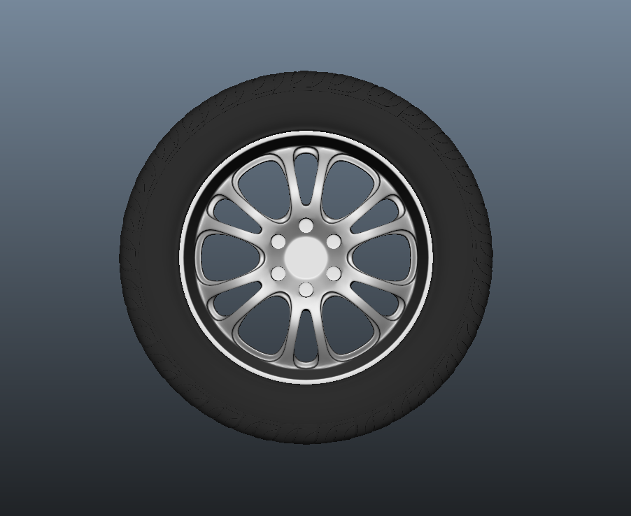 SUV Tyre with Alloys