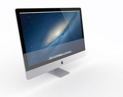 The New iMac 2014 3D Model
