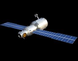 3d zvezda service module