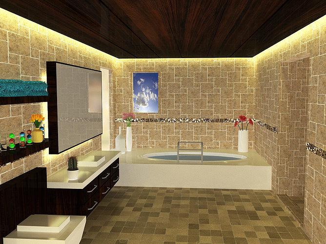 Bathroom Designs 3D Model MAX