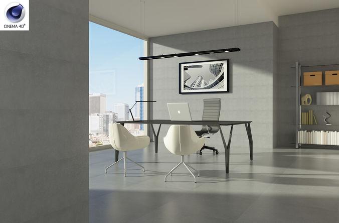 the boss office 3d model max fbx c4d ls8 1