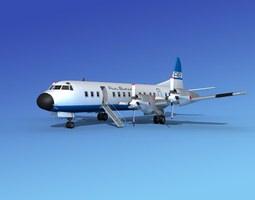 3D model Lockheed L-188 Electra HP Air Bimini