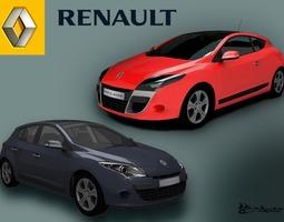 3d renault megane iii 2009 pack1