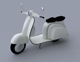 Scooter 3D 3D Model