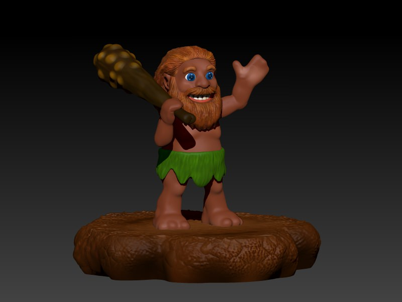 Akool The Cave Man