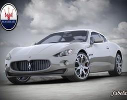 Maserati GT std mat 3D Model
