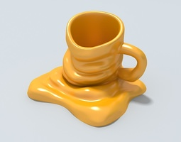 3D Mug new model Ready to be 3D printed