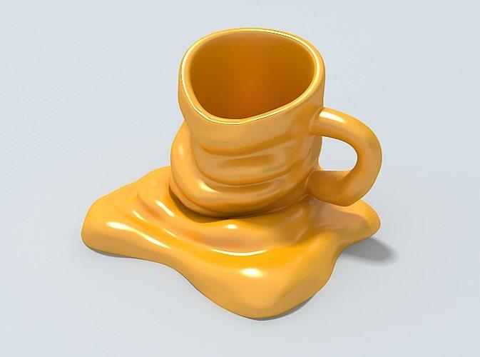 3d mug new model ready to be 3d printed cgtrader