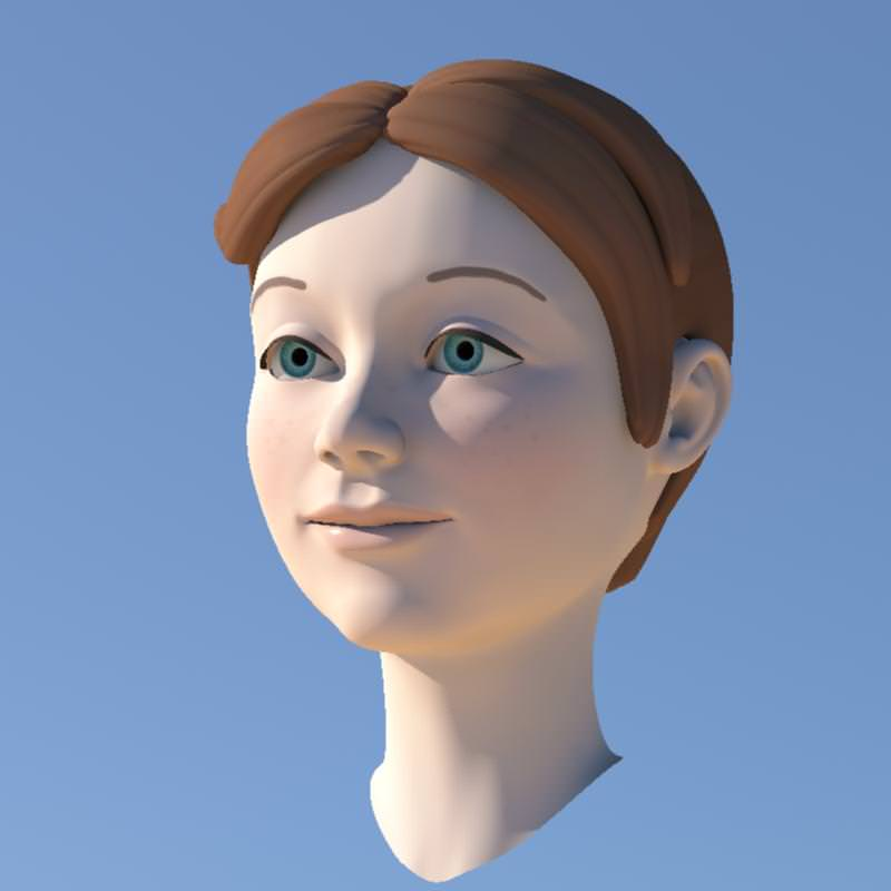 Girl with Morphs