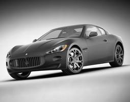 Maserati GT Elkann 3D Model