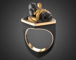 AMAZON Coktail ring RG0005 3D print model