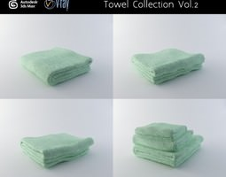 Towel Collection Vol 2 3D model