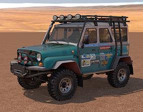 UAZ 31514 Off-Road 3D model