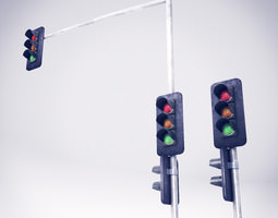 3D asset Traffic Lights