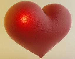 Heart 3D Model girlfriend