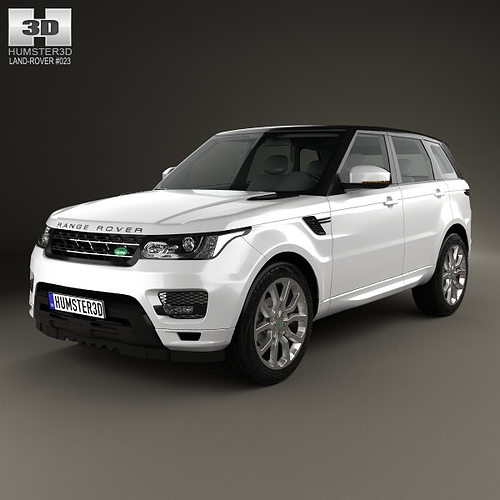 Land Rover Range Rover L405 2014 3d Model From Humster3d: Land Rover Range Rover Sport Autobiography 2013 3D Model