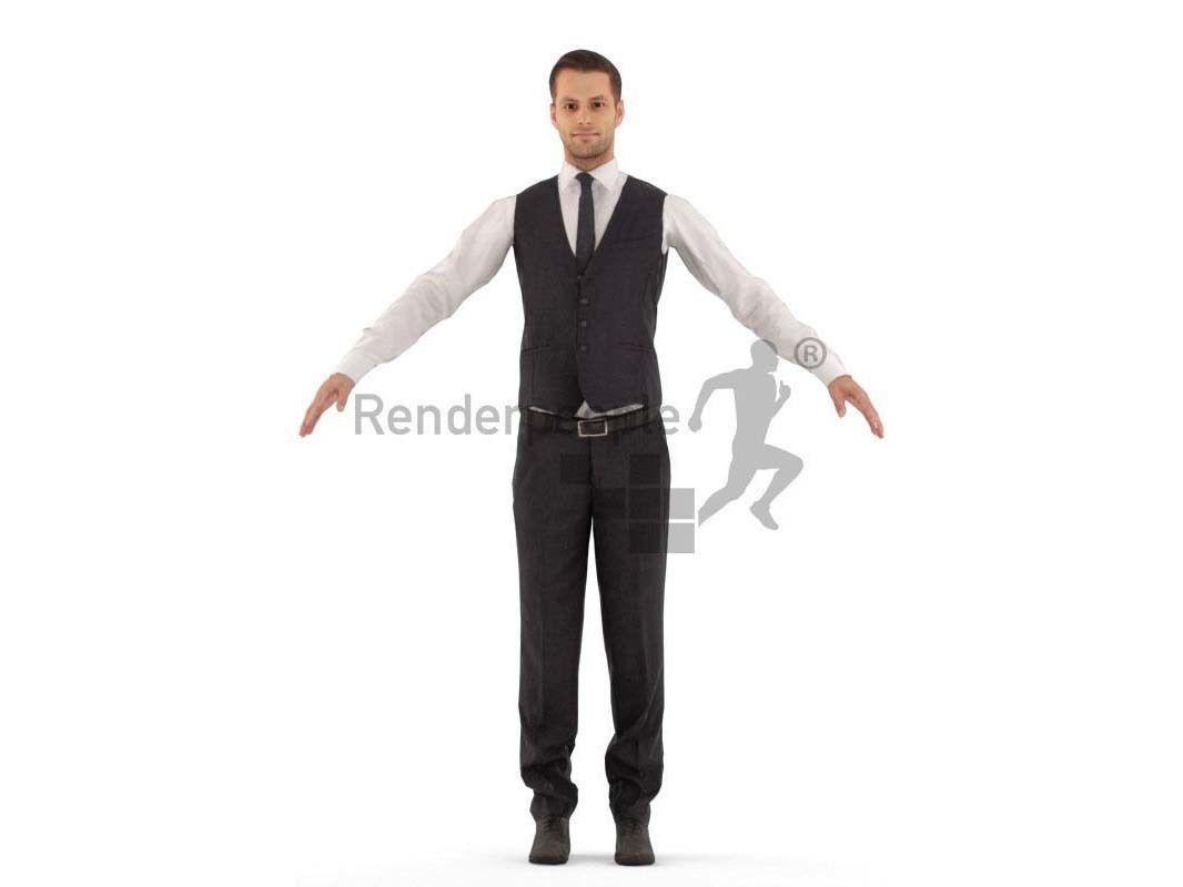 Eric 001 Man standing