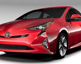 3D model Toyota Prius 2016