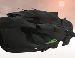 Rebel Alliance Battlecruiser 3D model