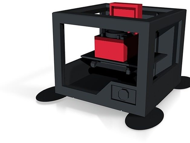 3d printer printing record player cgtrader 3d printer models free