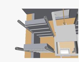 Watchtower sleeping room 3D printable model