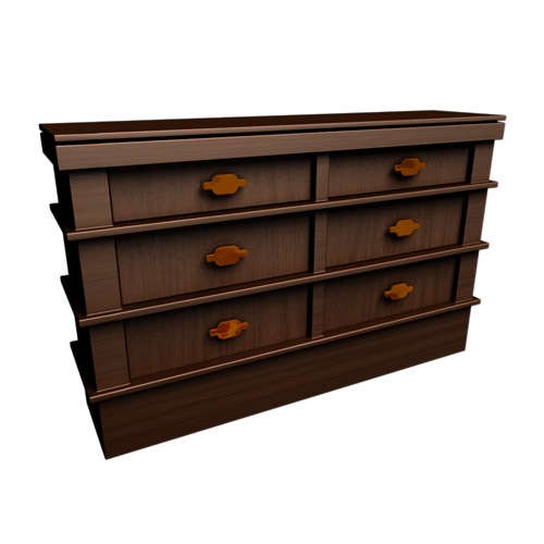 3d Wooden Drawers Cgtrader