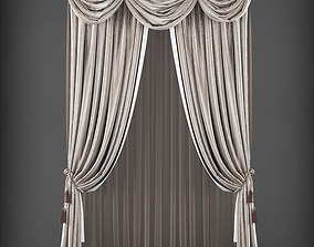 realtime Curtain 3D model 225