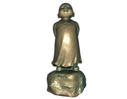 3D asset Buddhist monk
