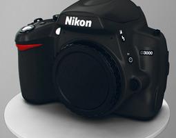 3D Nikon D3000