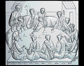 89 RELIGION ICON The Last Supper 3D printable model
