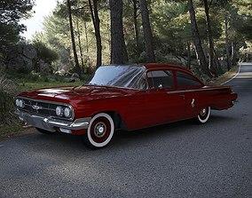 Chevrolet Biscayne 2-Doors Sedan 1960 3D