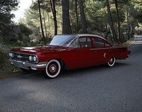 Chevrolet Biscayne 4-Doors Sedan 1960 3D model