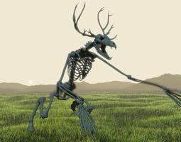 Unknown Creatures - Wendigo Skeleton 3D printable model