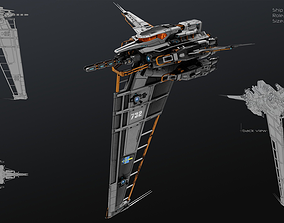 3D model Vertical Fighter